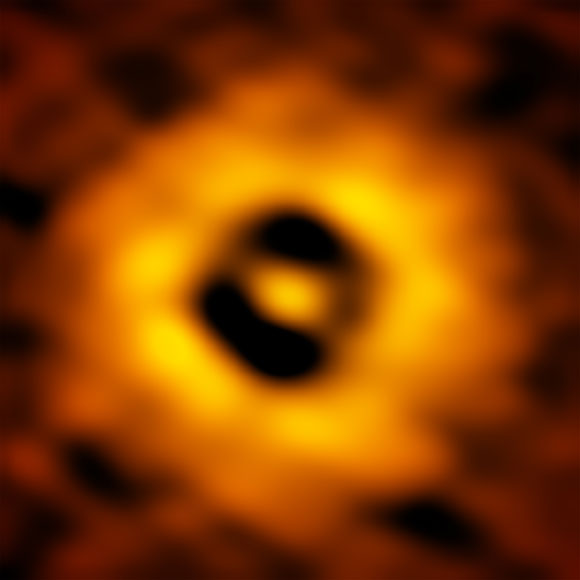 Inner Region of the TW Hydrae Protoplanetary Disk