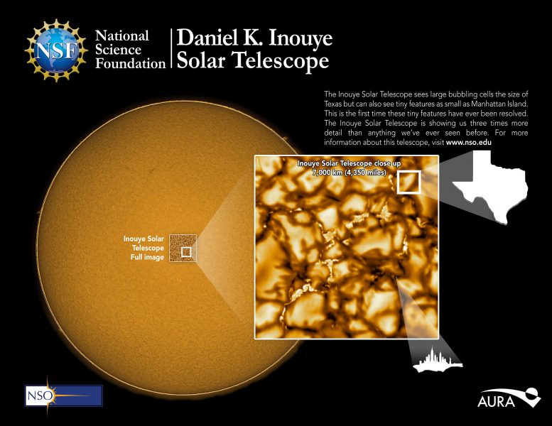 Inouye Solar Telescope First Light