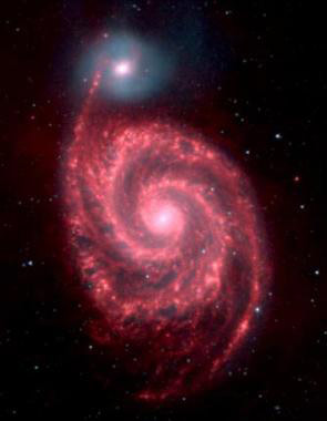 Interacting Galaxies M51A and M51B