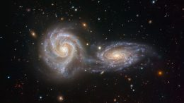 Interacting Galaxies NGC 5426 and NGC 5427