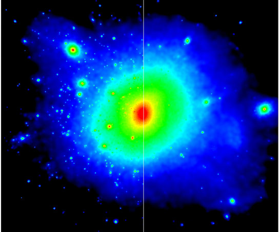Interactions between Cold Dark Matter and Radiation
