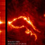 Interface Region Imaging Spectrograph Satellite Observes Major Solar Flare