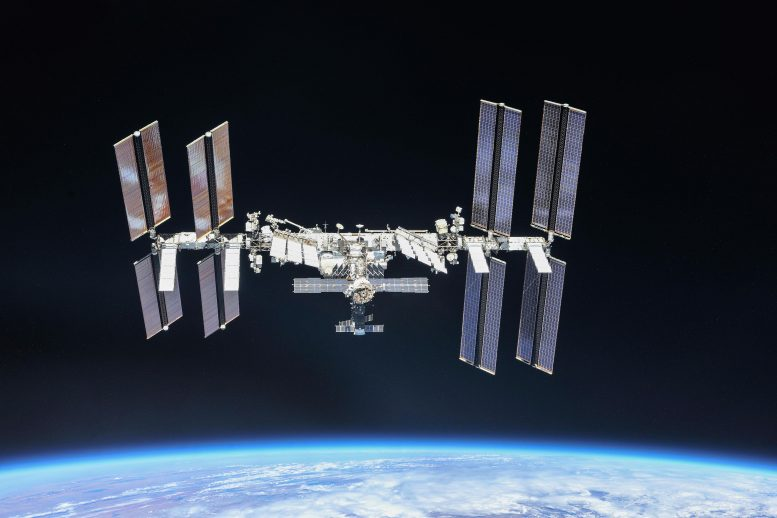 International Space Station in 2018