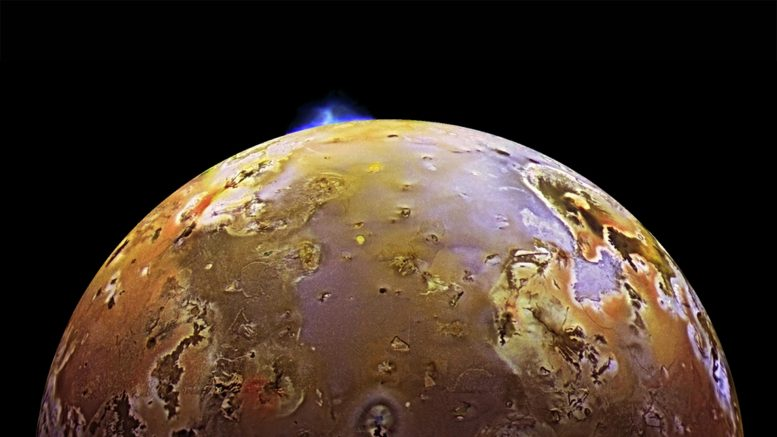 Io Volcanic Eruption