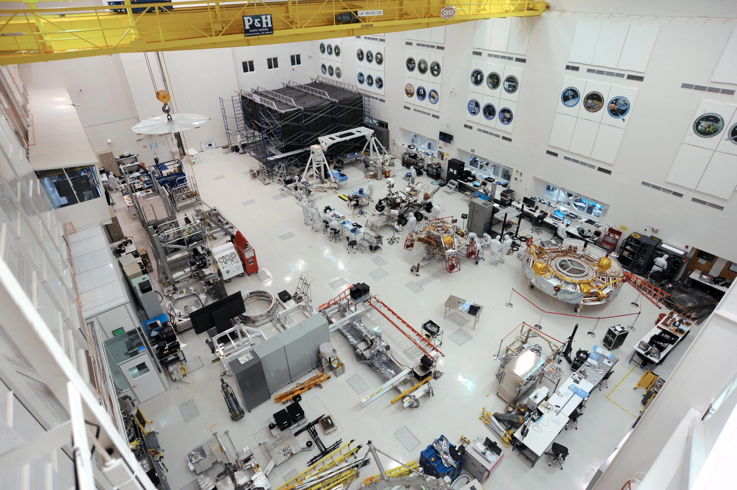 Space History Is Made In This Nasa Jet Propulsion Laboratory Robot Factory