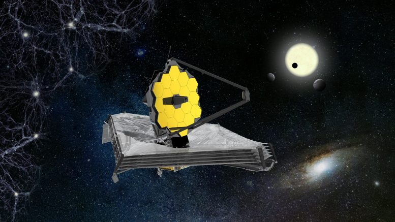 Impression of James Telb, a space telescope artist
