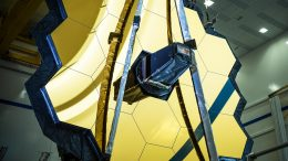 James Webb Space Telescope Primary Mirror Fully Deployed