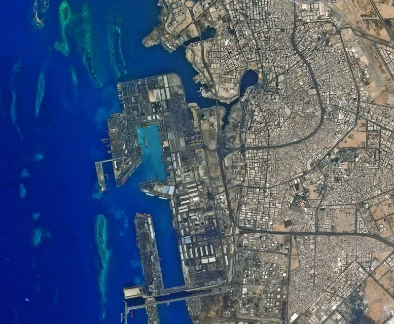 Jeddah Seaport Saudi Arabia