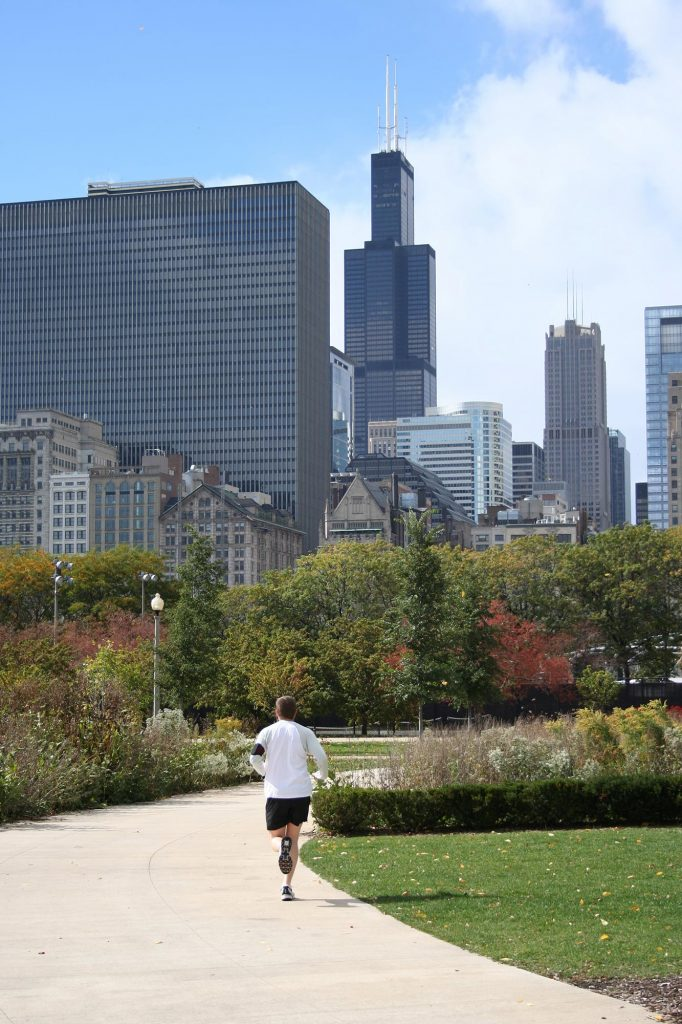 Jogging Chicago