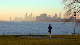Jogging Chicago Lakefront