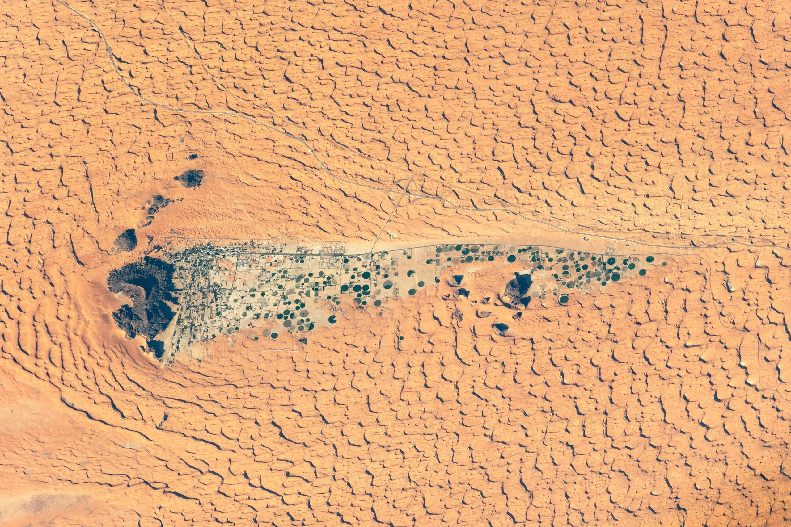 Modern Oasis of Jubbah: A Long-Ago Lake Amid the Dunes - SciTechDaily