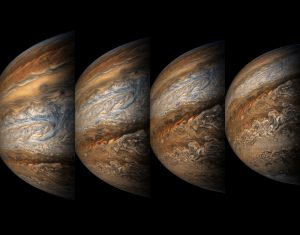 Juno's Eighth Close Approach to Jupiter