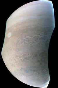 Juno Captures New Image of Jupiter