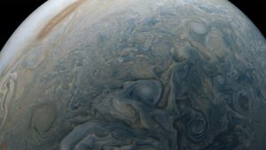 Juno Image of Jovian Swirls