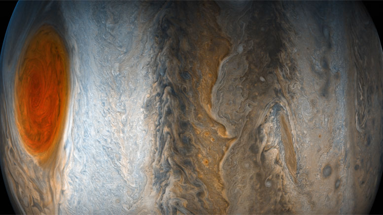 Juno Provides New View of Jupiter