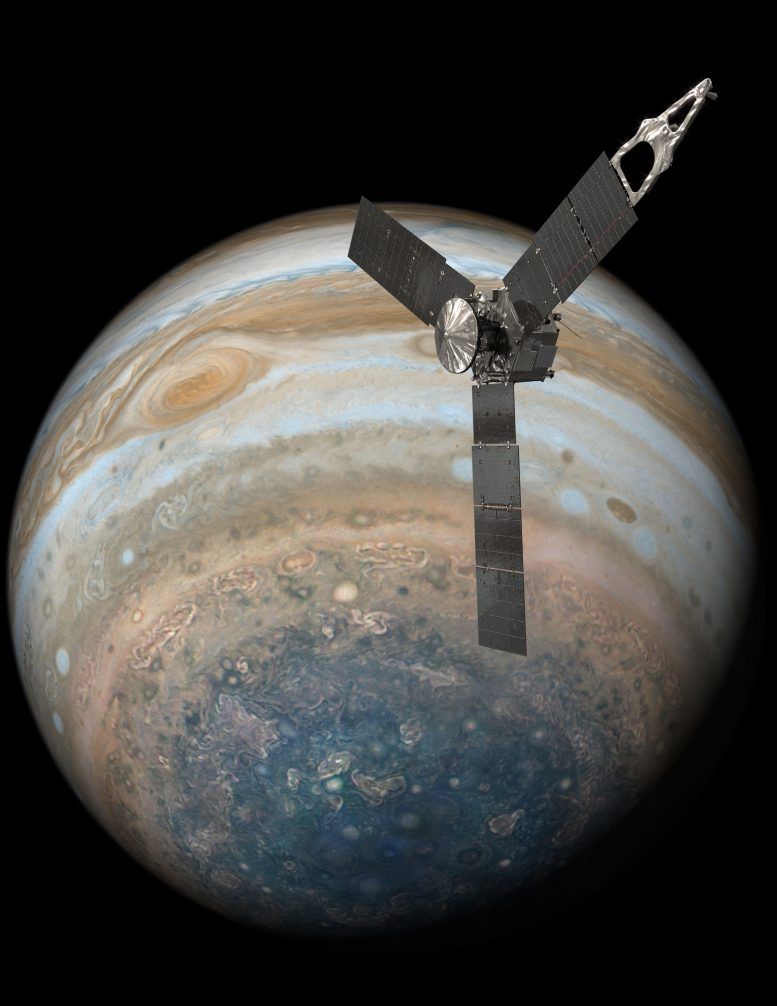 Juno Spacecraft Completes Flyby over Jupiter's Great Red Spot