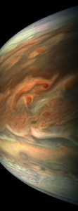 Juno Spacecraft Performs Its Eighth Flyby of Jupiter