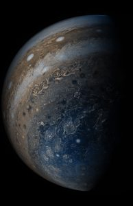 Juno Spacecraft Views Jupiter's Clouds of Many Colors