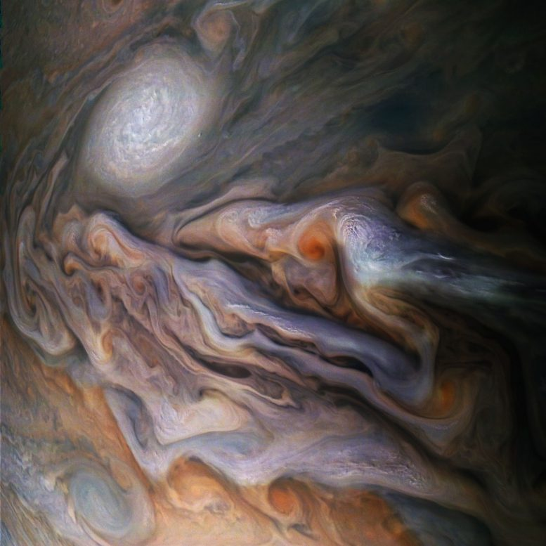 JunoCam Captures Magnificent View of Jupiter
