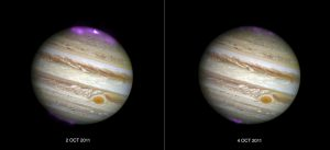 Jupiter's Northern Lights