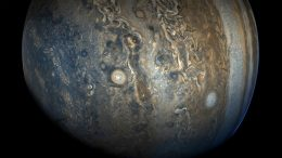 Jupiter Grew in Different, Distinct Phases