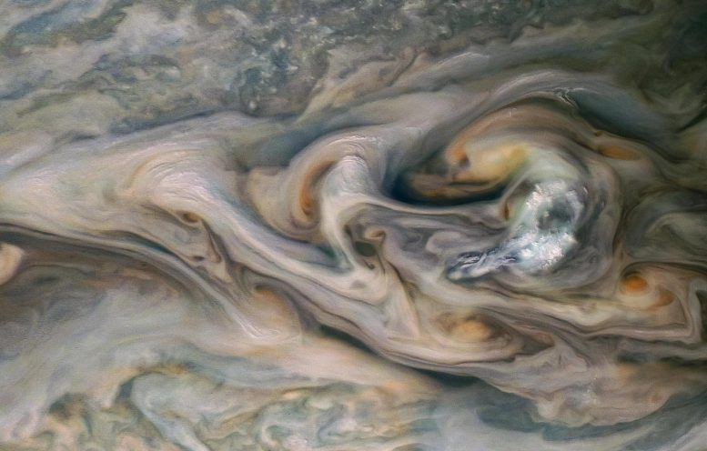 Jupiter Luminous Clouds