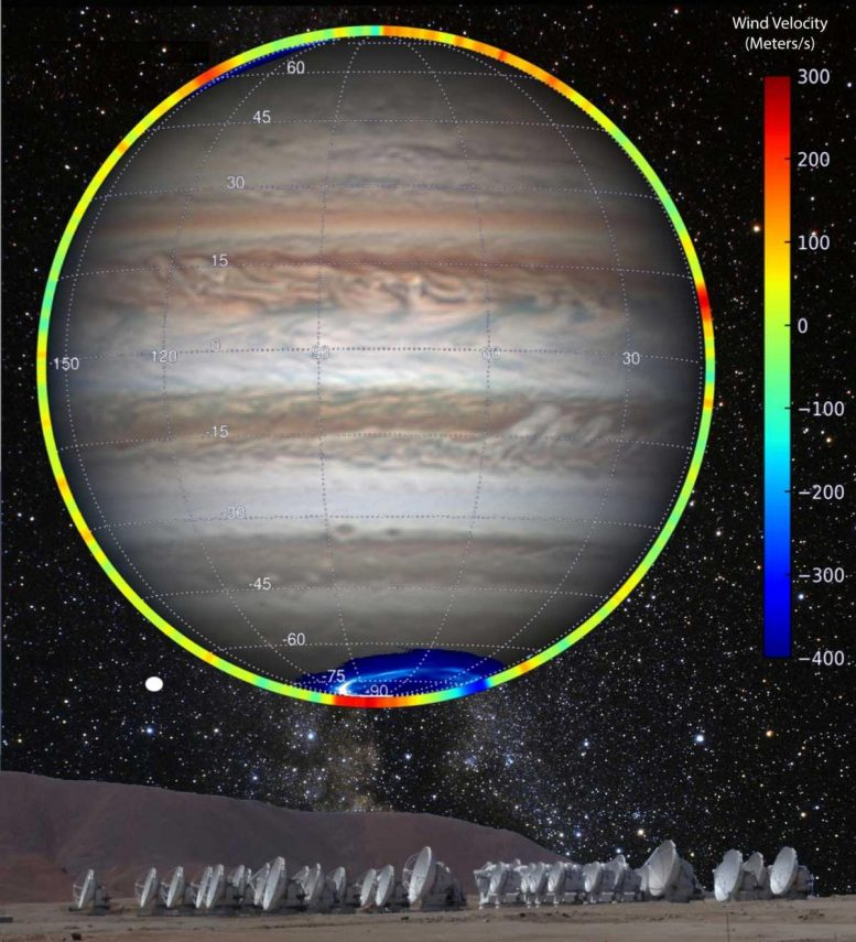 Jupiter Polar Winds