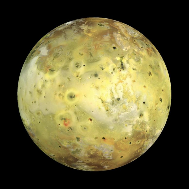 Jupiter's Moon Io Galileo Spacecraft