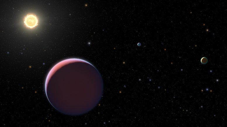 Kepler 51 and Three Giant Planets