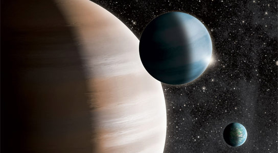 Exoplanets Can Be Divided Into Three Groups: Terrestrials, Gas Giants, and Mid-Sized Gas Dwarfs