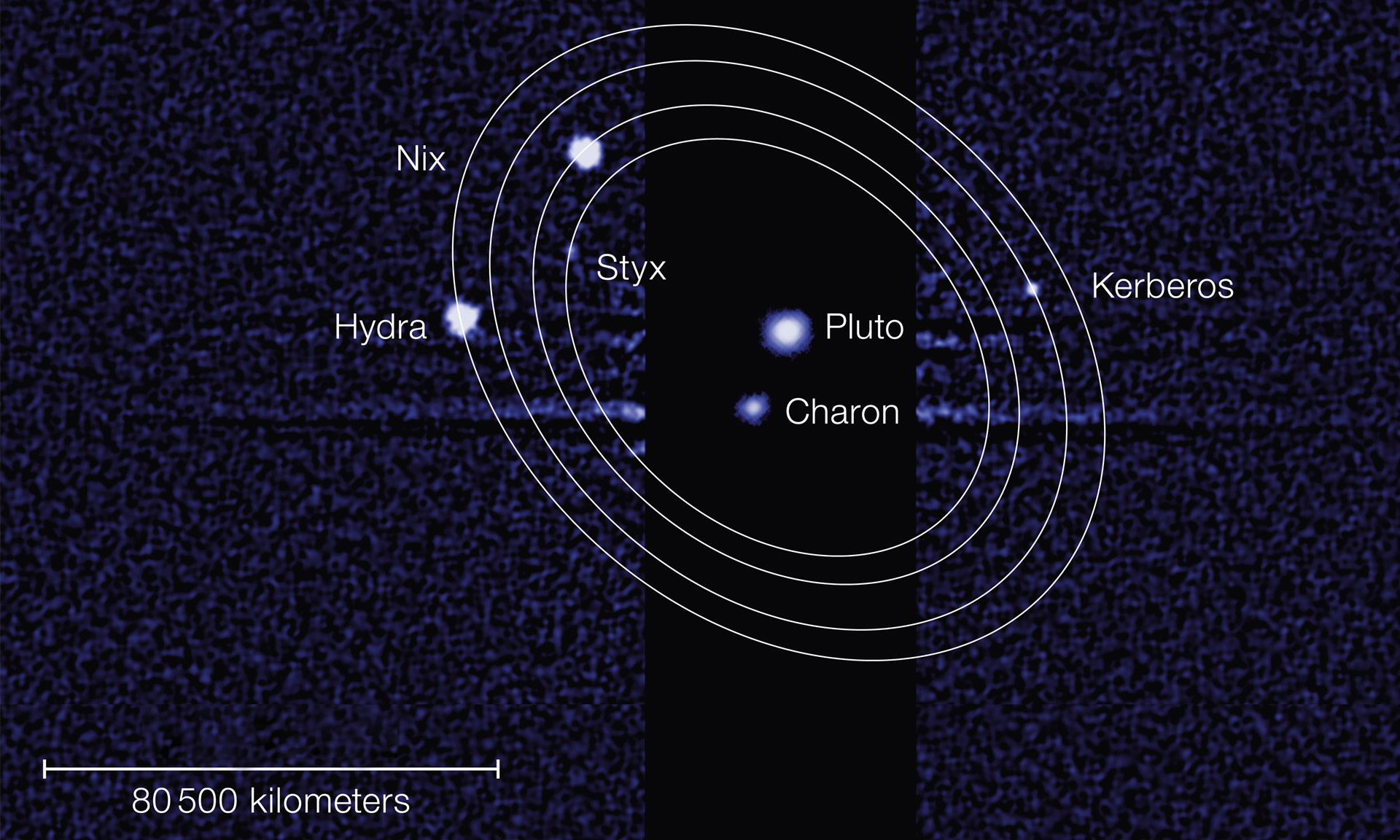 Styx Pluto S Moon: Kerberos And Styx Accepted By IAU As Names For Pluto's