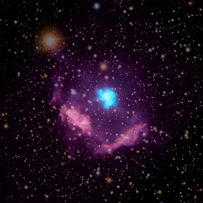 Kes 75 Milky Way's Youngest Pulsar Exposes Secrets of Star's Demise