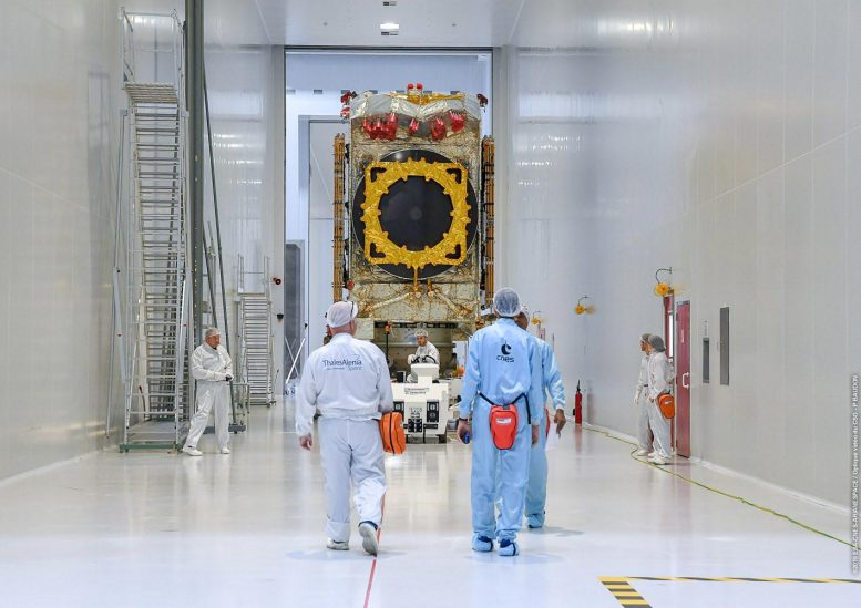 Konnect Satellite Before Launch