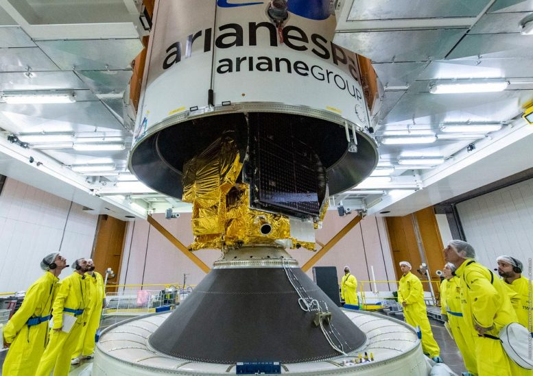 Konnect Satellite Placed in Fairing