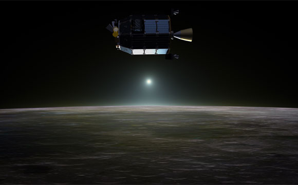 LADEE Spacecraft Reveals Neon in Lunar Atmosphere