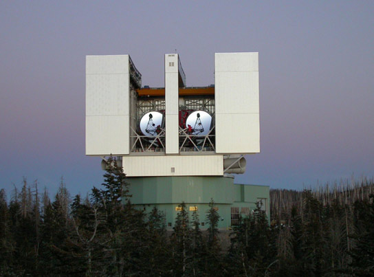 LBTI Telescope To Seek Dust Where Other Earths May Lie