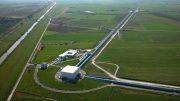 LIGO and Virgo Report the First Joint Detection of Gravitational Waves