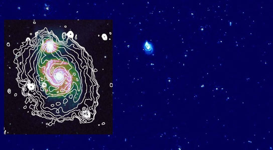 LOFAR Observes Cosmic Particles in Galaxy M51