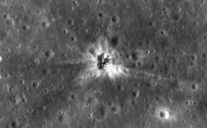 LRO Reveals Apollo 16 Booster Rocket Impact Site