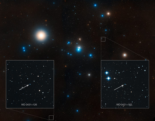 Labelled Overview of the Hyades Star Cluster