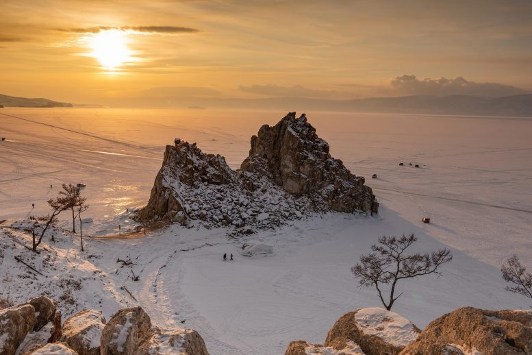 Lake Baikal Winter