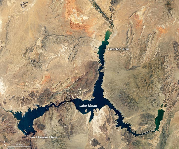 Lake Mead August 2021 Annotated