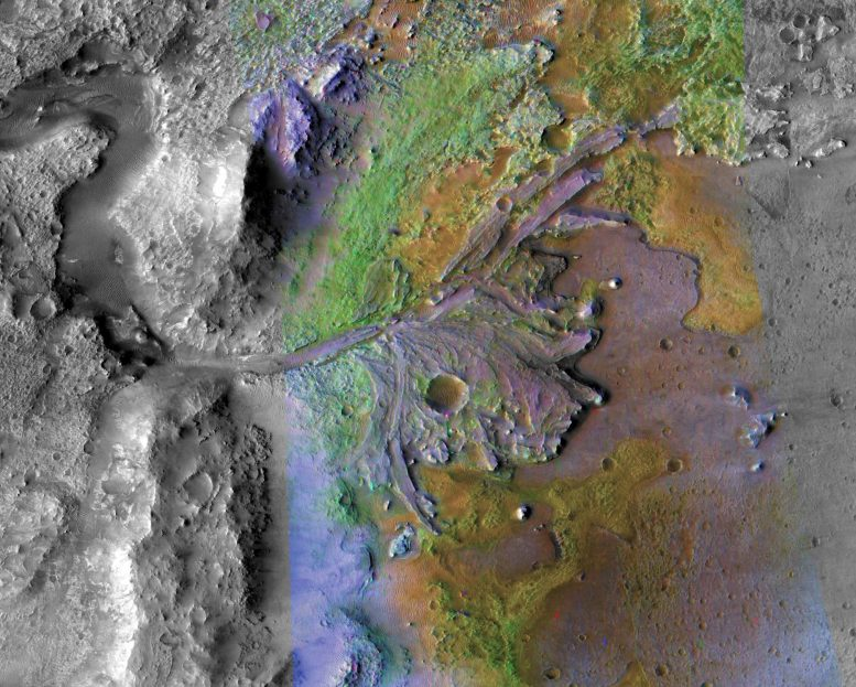 Landing Site for Mars 2020 Rover