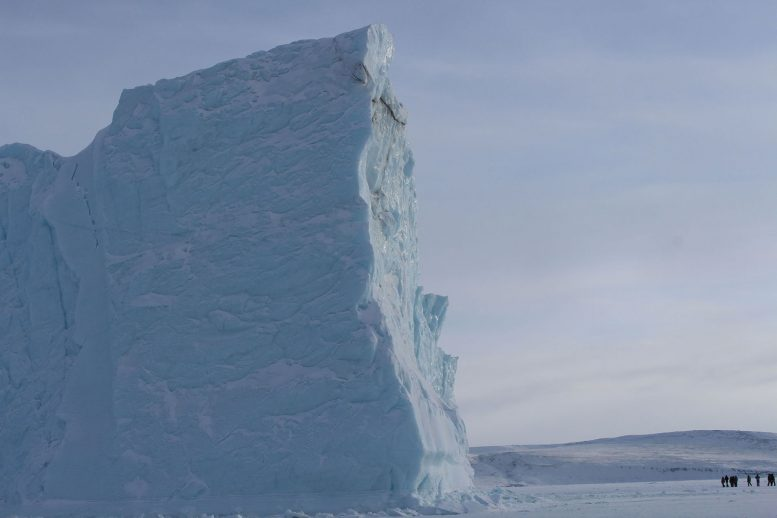 Large Iceberg Near Thule Air Base