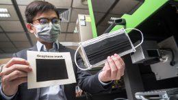 Laser Induced Graphene Mask