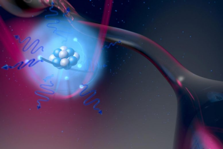 Laser Light Can Capture Individual Atoms