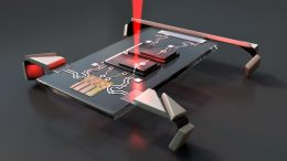 Laser Micro Robot Walking