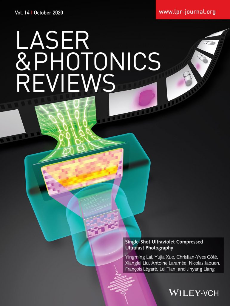 Laser Photonics Reviews 10th Cover