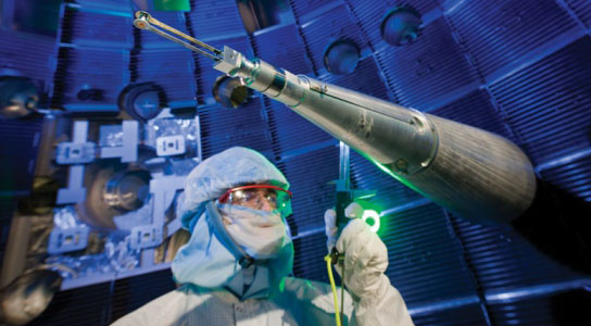 Laser lab shifts focus