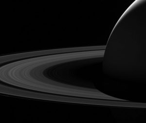 Last Images of Saturn from Cassini